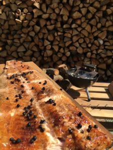 Recetas con asador de salmon