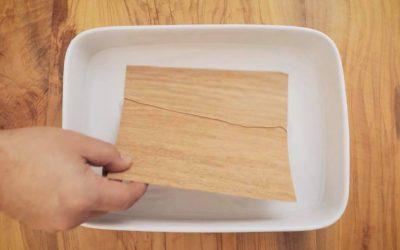 RECETA: BROWNIE CON WOOD WRAPS