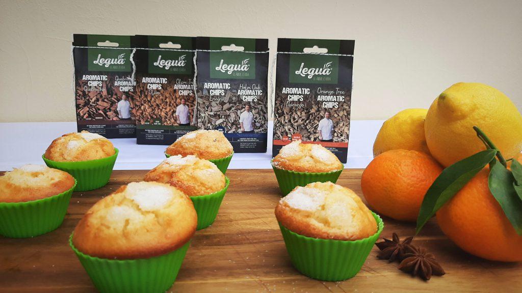 Las diferentes aromatic chips Legua de naranjo, encina, quebracho y olivo ahúman rápido y fácil tus alimentos.
