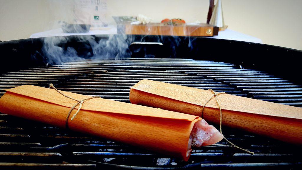Un plato maestro con el ahumado perfecto gracias a los Wood Wraps.