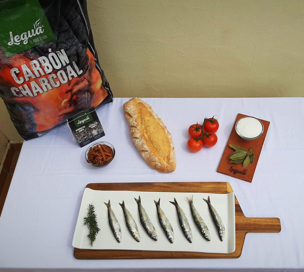 Cocina con carbón y aromatic chips de Legua