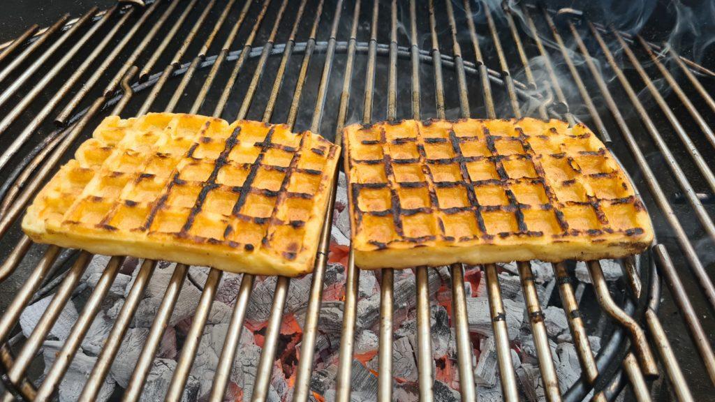 Cocina con carbón de Legua.