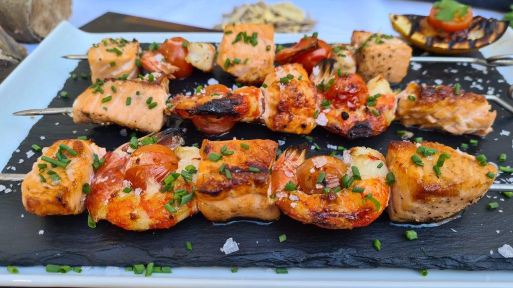 Cocina con carbón y aromatic chip de Legua
