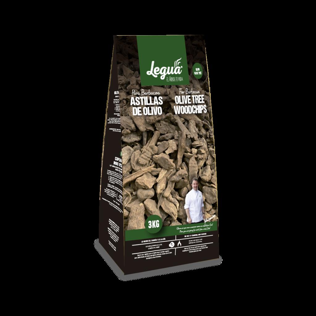 Astillas de olivo Legua